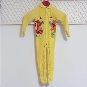 DISNEY Vintage Winnie the Pooh Terry Cloth Onsie